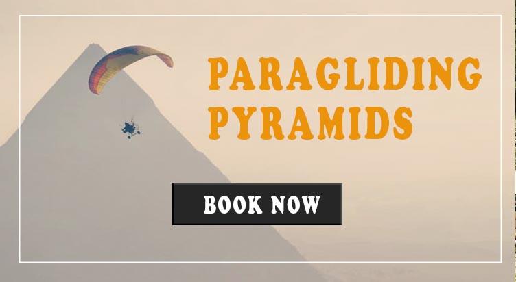 Paragliding Egypt Pyramids
