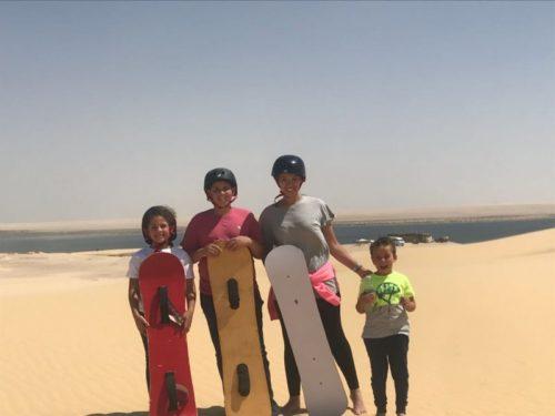 Sandboarding egypt