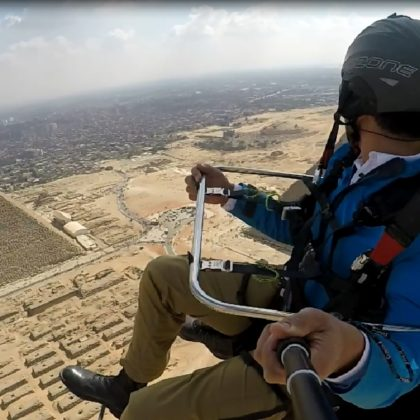 Paragliding Pyramids Paragliding Egypt