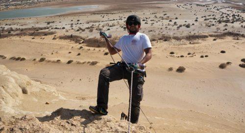 Rappelling Egypt