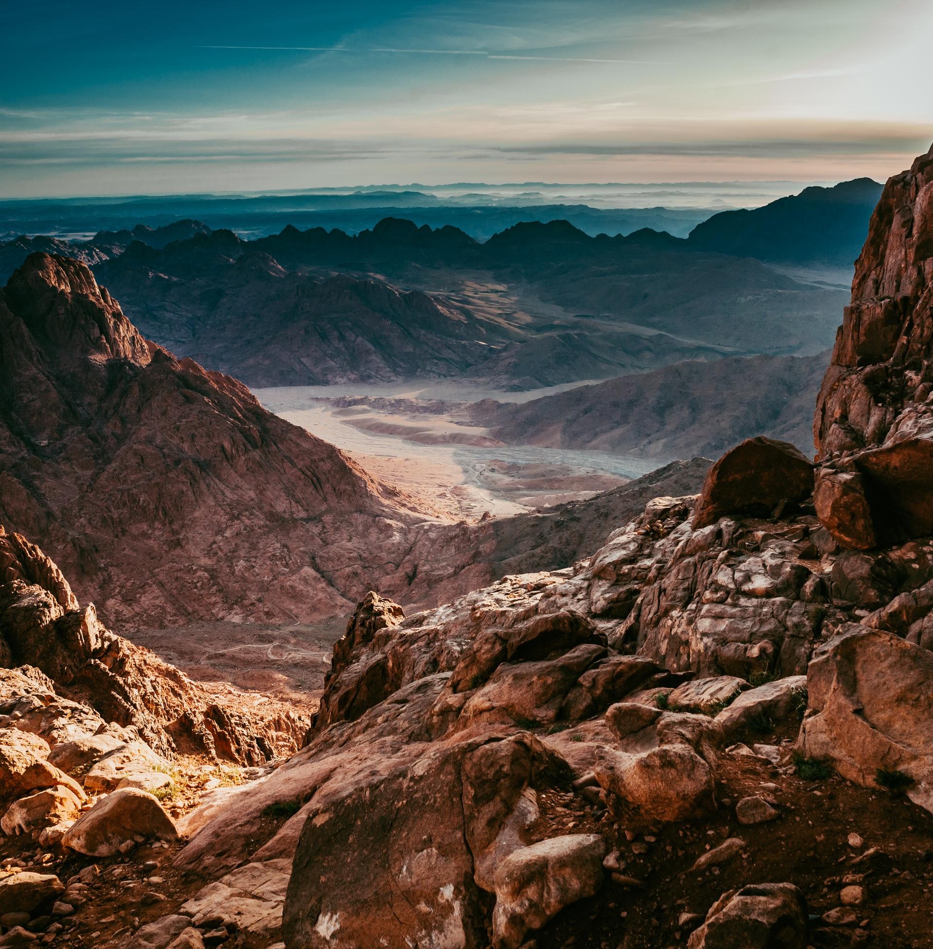hiking egypt